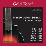 Gold Tone FGS12EX 12 String Mando-Guitar Strings