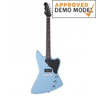 Fret King Esprit I Gun Hill Blue Electric Guitar Demo Model