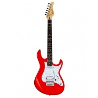 Cort G250 Scarlet Red Double Cutaway Electric Guitar