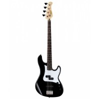 Cort GB14PJ Black 4 String Double Cutaway Bass Guitar