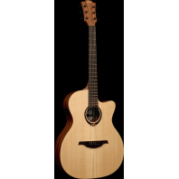 Lag Tramontane Auditorium Cutaway Electro-Acoustic Guitar T70ACE