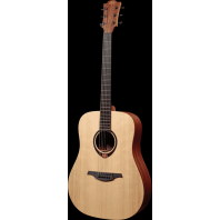 Lag Tramontane Dreadnought Acoustic Guitar With Headstock Tuner T70D-HIT