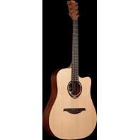Lag Tramontane Dreadnought Cutaway Acoustic Guitar T70DC