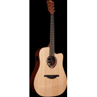 Lag Tramontane Dreadnought Cutaway Electro-Acoustic Guitar T70DCE