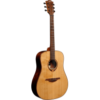 Lag Tramontane Left Handed Dreadnought Acoustic Guitar TL118D