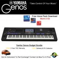 Yamaha Genos Digital Workstation Keyboard | Allegro Music
