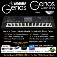 Yamaha Genos 76 Note Ultimate Bundle Keyboard Only