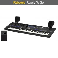 Reboxed Yamaha Genos 76 Note Keyboard with Speakers