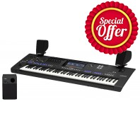 Yamaha Genos 76 Note Keyboard with Speakers