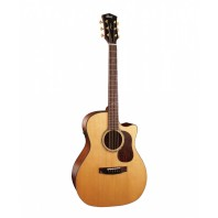 Cort Gold-A6 Natural Glossy Left Handed Grand Auditorium Electro-Acoustic Guitar