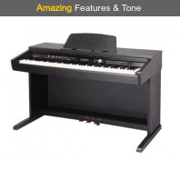 Hadley D20 88 Note Weighted Arranger Home Piano