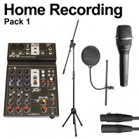 Beginners Home Recording Pack 1