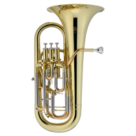 Jupiter Bb Euphonium Lacquered Compensated 3+1 Valves JEP1120