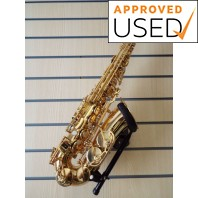 Used Jupiter 500 Eb Alto Saxophone Gold Lacquer