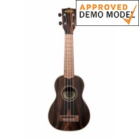 Kala KA-EBY-S Ebony Stripes Series Soprano Demo Model