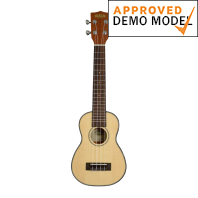Kala KA-SSLNG Spruce/Mahogony Long Neck Soprano Demo Model