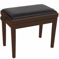 Kinsman Adjustable Piano Bench Dark Walnut