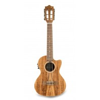 Lanikai ACST-6CET Acacia Solid Top 6 String Tenor With Kula Preamp A/E Ukulele