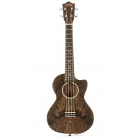 Lanikai FBCET-T Figured Bocote Thin Body Tenor With A/E Ukulele