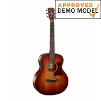 Cort Little CJ Blackwood Open Pore Light Burst 3/4 Size Electro-Acoustic Guitar Demo Model