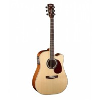 Cort MR730FX Natural Glossy Dreadnought Cutaway Electro-Acoustic Guitar