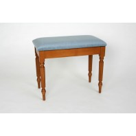 Woodhouse Solo Box Stool with Regency Legs - MS502R