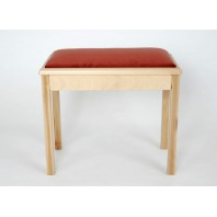 Woodhouse Solo Box Stool With Inset Pad MS801