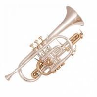 Odyssey OCR1000SG Symphonique 'BB' Silver Plated Cornet Outfit