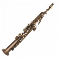 Odyssey OSS3700 'Bb' Symphonique Straight Distressed Saxophone Outfit