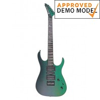 Palm Bay Tempest Emerald & Black Electric Guitar Demo Model