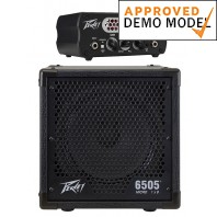Peavey 6505 Pirahna Head & 6505 Micro 1x8 Cabinet Demo Model Bundle