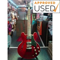 Used Peerless Firefox 335 Red Electric Guitar