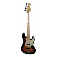 Revelation RBJ67 3 Tone Sunburst Jazz Bass Guitar