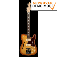 Revelation RFT DLX Honeyburst Electric Guitar Demo Model