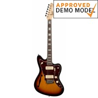 Revelation RJT60 Sunburst Thinline Electric Guitar Left Handed Demo Model