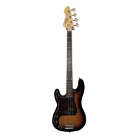 Revelation RPB65 Sunburst Left Handed Bass