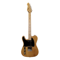 Revelation RTE54 Natural Left Handed Electric Guitar