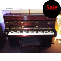 Used Reid Sohn RS108 Polished Red Mahogany Upright Piano