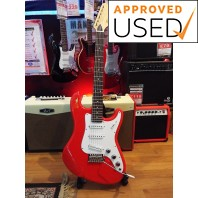 Used Revelation RTS63 VX Poppy Red Electric Guitar