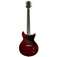 Revelation RLJ Cherry Red Electric Guitar