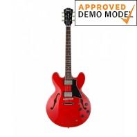 Cort Source Cherry Red Semi-Acoustic Electric Guitar Demo Model