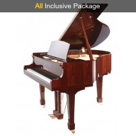 Steinhoven SG160 Polished Mahogany Baby Grand Piano All Inclusive Package