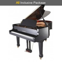 Steinhoven SG170 Polished Ebony Grand Piano All Inclusive Package