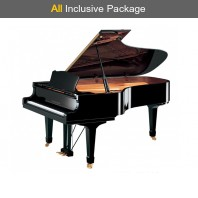 Steinhoven SG227 Polished Ebony Grand Piano All Inclusive Package