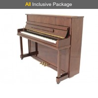 Steinhoven SU 112 Polished Walnut Upright Piano All Inclusive Package