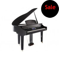 Used Suzuki Digital Polished Ebony Grand Piano