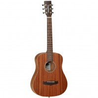 Tanglewood Winterleaf TW2 T Left Handed Acoustic Travel Guitar