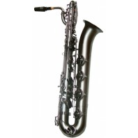 Trevor James SR Baritone Sax Frosted Black - 394SR BBF