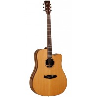 Tanglewood TWJDCE Dreadnought Java Exotic