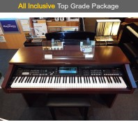 Used Technics PR804 Mahogany Digital Piano Complete Package